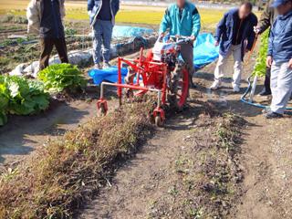 収穫講習会の様子